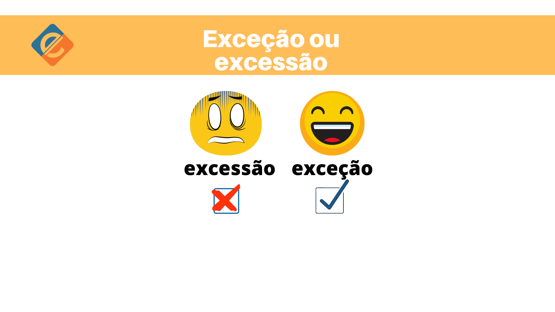 Exceção ou excessão