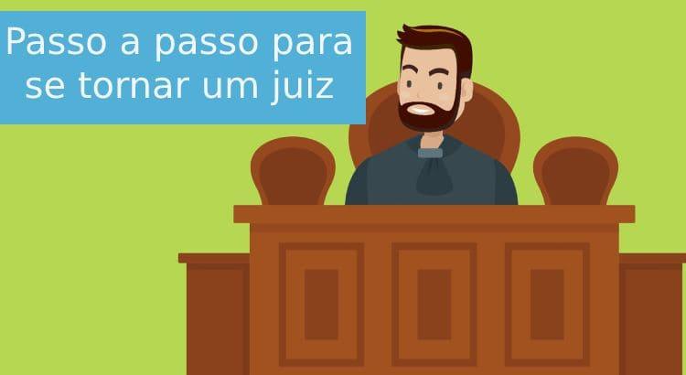 como se tornar juiz de direito